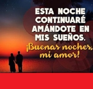 Nueva imagen de buenas noches con frases de amor, descarga gratuita para Fb