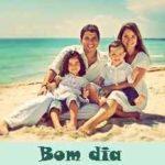 44 Bom dia imagens para familia com frases e fotos para Whatsapp status