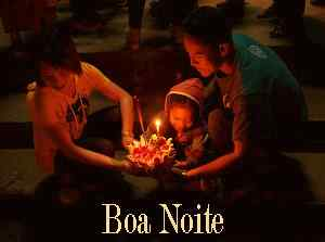 boa noite criativa wallpaper download