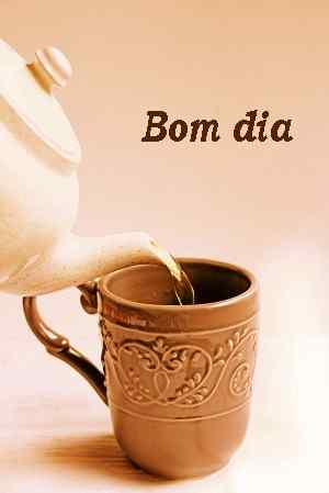 imagem de chá de bom dia superior para amigo