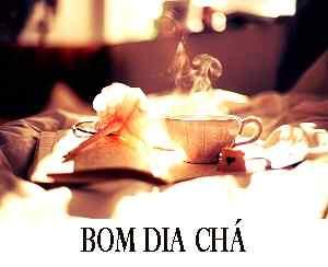 imagem romântica de bom dia com download de chá