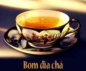 imagens românticas de bom dia com download de chá