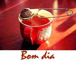 melhor chá com bom dia download de imagem