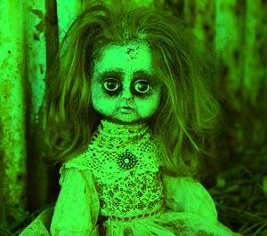 Horror doll dp para Whatsapp dp