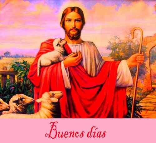 Imagen de Jesús con buenos días descargar