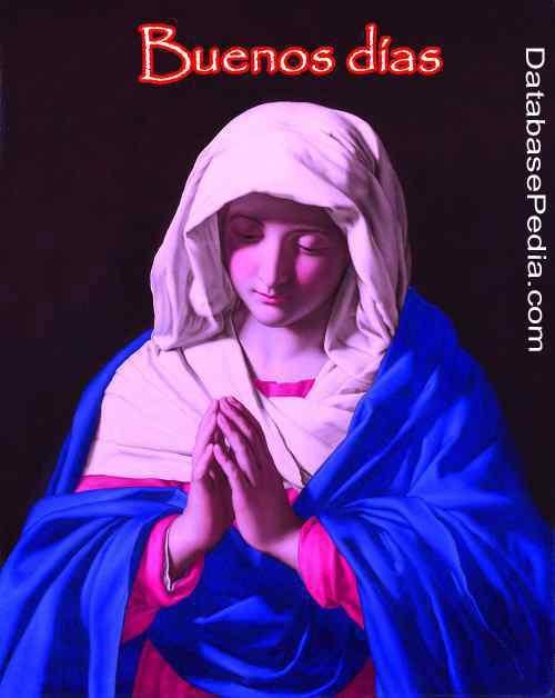 mejor foto de la madre María con buenos días descargar