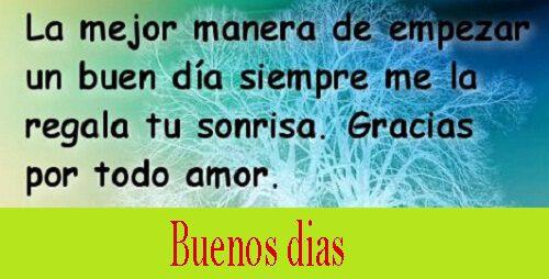 52 Fotos De Buenos Dias Mi Amor Mio Con Frases Para Whatsapp