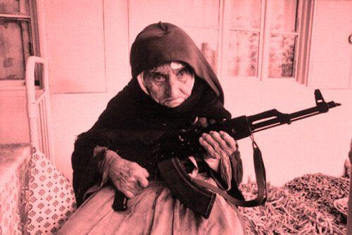 imagen divertida de anciana para fb